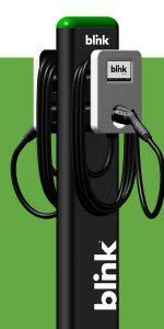 BLNK - Blink Charging Co. יצרנית של עמדות טעינה לרכבים חשמליים בכל רחבי ארצות הברית. בנוסף החברה מאפשרת שימוש בעמדות השונות דרך ניהול החשבון האישי והחיובים בענן.