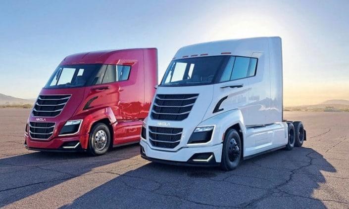 משאיות של חברת Nikola Corporation
