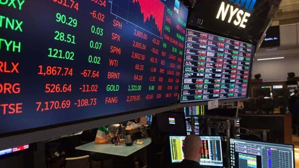בורסת ניו- יורק - מסחר בשוק ההון