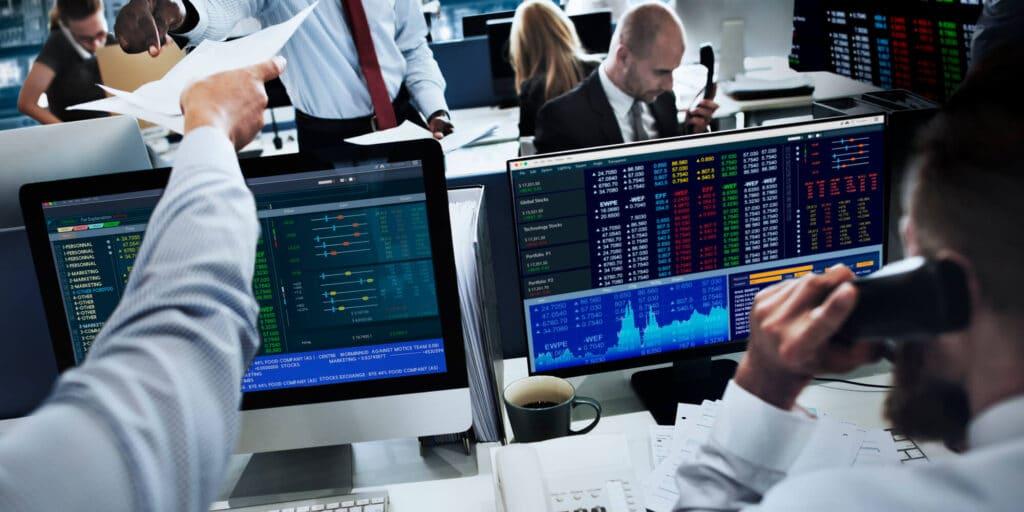 שוק ההון - קניה מכירה של מניות